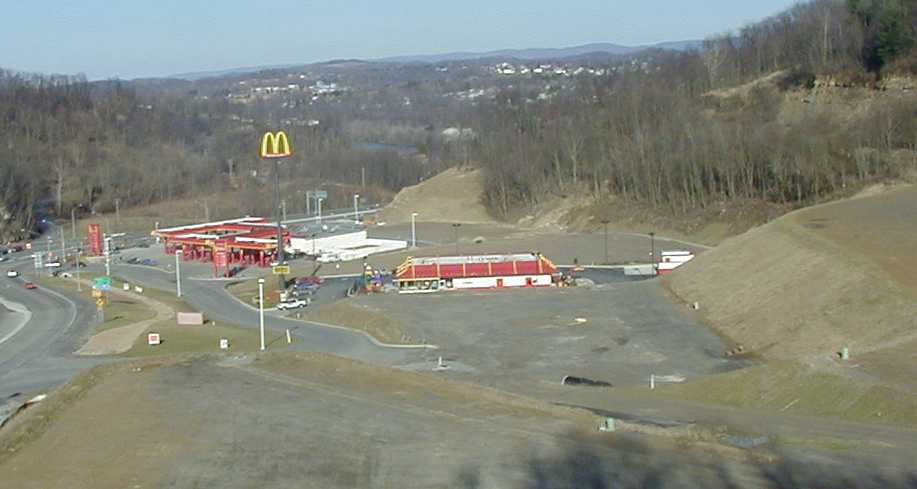 West Virginia Surveying Design Construction Inspection State Route 7 and U.S. Route 19 Star City Plaza